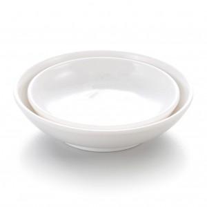 Melamine Round Sauce Dish White - 9.8 x 9.8 x 2.4cm