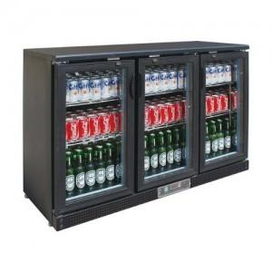 Three sliding door bar cooler - SC316SD