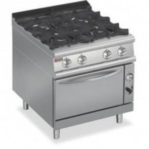 Baron 7PCF/GE8005 Four Burner Gas Oven