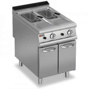 Baron 9FRI/G610 Gas Split Pot Fryer