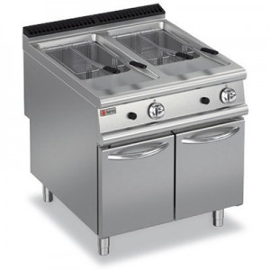 Baron 9FRI/G820 Double Pan Gas Fryer