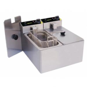 Apuro P107-A 3Ltr Double Deep Fryer