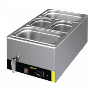 Apuro S047-A Bain Marie with Tap and Pans