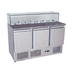 ATOSA ESL3864 Pizzatable Saladette 1365mm