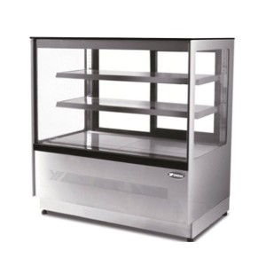 ATOSA DF097F Upright Square Cake Showcase 900mm
