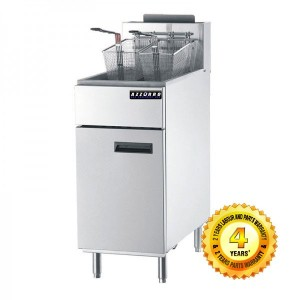 BL-DF3 Azzurro 3 Tubes Gas Deep Fryer
