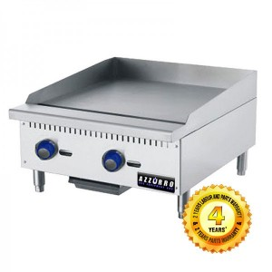 BL-HP2 Azzurro 2 Gas Burner Griddle/Hot Plate