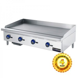 BL-HP4 Azzurro 4 Burner Griddle/Hot Pla