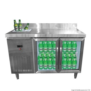 BT02 Bar Cooling Table with Sink