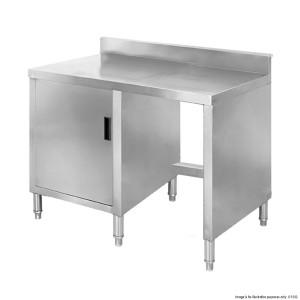 Cabinet work bench with splashback BT05B