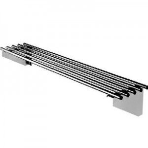 Simply Stainless SS11.2100 Piped Wall Shelf - 2100mm