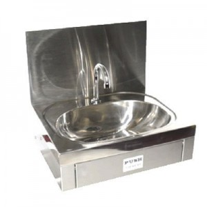 Stoddart WB.KO1.300.TV Knee Operated Wash Basin w/Splashback