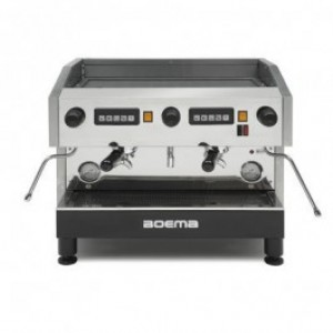 Boema CC-2V15A Caffe 2 Group Volumetric Espresso Machine