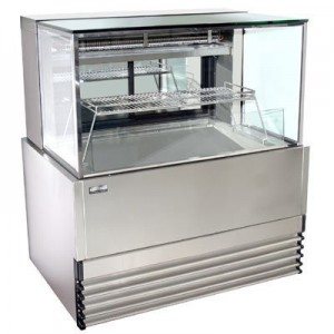 Koldtech KT.SQRCD.12.SF Square Glass Seafood Display - 1200mm