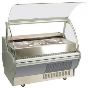 Bromic BM150P Prestige Hot Bain Marie Deli Display - 1500mm