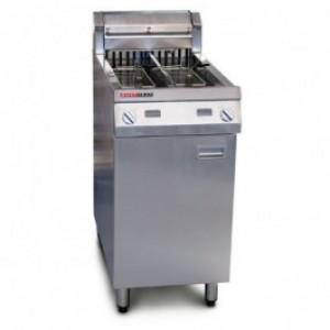 Austheat AF812/R Single Tank Electric Fryers 2 Basket