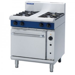 Blue Seal G54D/C Heavy Duty 4 Burner Gas Convection Oven - Floor Stock