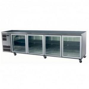 Skope CL800 Counterline Series Four Door Bench Fridge - 2820mm