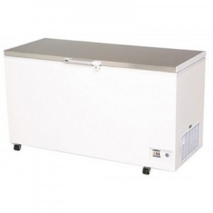 Bromic CF0500FTSS S/Steel Flat Top Chest Freezer - 492 Litre