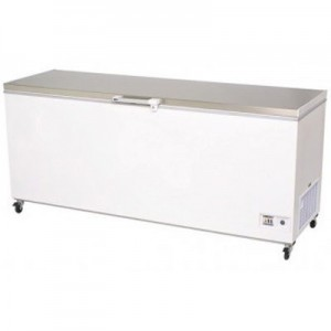 Bromic CF0700FTSS S/Steel Flat Top Chest Freezer - 675 Litre