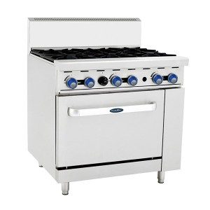 COOKRITE AT0-68-F 6 Burner with Oven 914mm