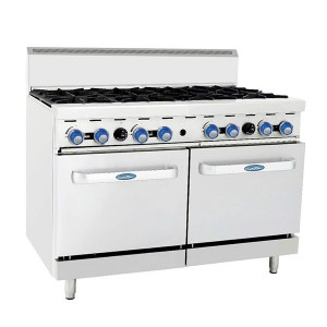 COOKRITE 8 Burner with Oven