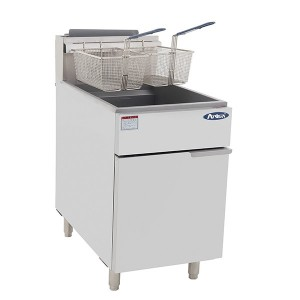 COOKRITE ATFS-75 5 Tubes Gas Deep Fryer 450mm