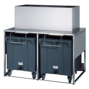 BREMA DRB100-Get Trolley Storage Bin 2 x 108Kg Cart Capacity