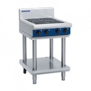 Blue Seal E514D/C/B-LS 4 Radiant Elements Cooktop On Leg Stand