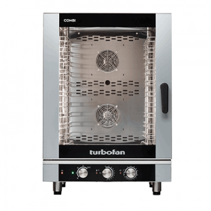 Turbofan EC40M10 Full Size 10 Tray Manual Electric Combi Oven