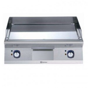 Electrolux 700 XP Series E7FTEHCS10 800mm wide Electric Griddle with smooth chrome plate