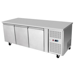 ATOSA EPF3472 Three Door Freezer Table