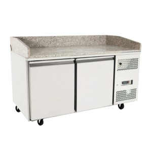 Atosa EPF3490 Single Door Refrigerated Pizza Table with Drawers 1510mm