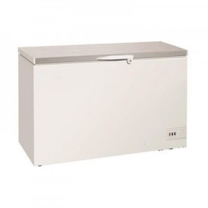 Exquisite ESS550H 550 Litre Stainless Steel Top Check Freezer