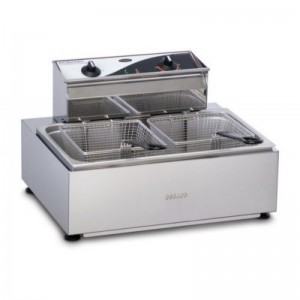 Roband Single Pan / Double Basket Counter Fryer