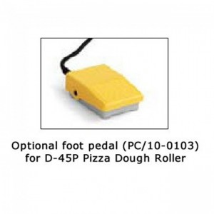 PC/10-0103 Foot Pedal for D-45P Pizza Dough Roller