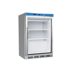 HF200G S/S Display Freezer with Glass Door