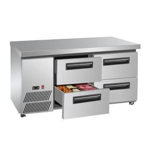 LBC150 Four large drawer Lowboy Fridge