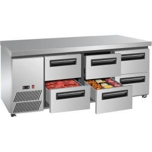 LBC180 Six drawer Lowboy Fridge