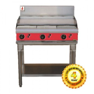 Fuoco F6GBS Commecial 3 Burner hot plate