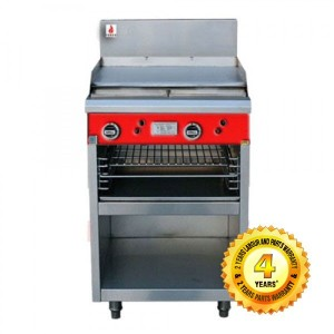 Fuoco F4GBS+T Commercial 4 gas hot plate