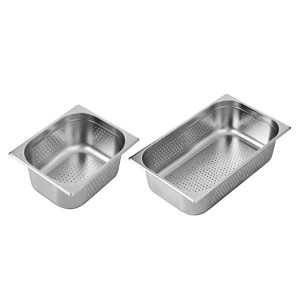 P12100 - 1/2 x 100 mm Perforated Gastronorm Pan AUSTRALIAN STYLE