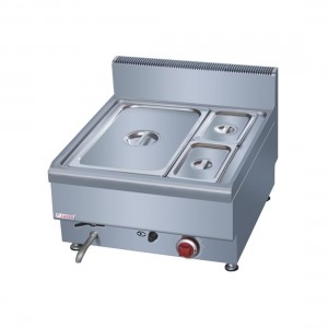 JUS-TY-2 Bain Marie With 1 x 1/1 pan + 2 x ¼ GN Pan & Lid