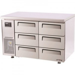 Turbo Air KUR12-3D-6 Range Undercounter drawer fridge(DISPLAY ONLY)