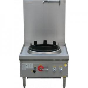 LKK-1B17L Waterless Single Burner Low Profile Gas Wok Cooker
