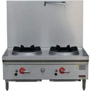 LKK-2BSRL Twin Hole Stockpot Cooker