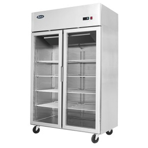 ATOSA MCF8602 Top Mounted Double Door Freezer Showcase