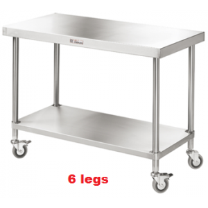Simply Stainless SS03.7.2400 Mobile Work Bench