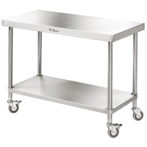 Simply Stainless SS03.1200 Mobile Work Bench