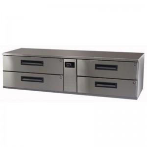 Skope PGLL300R Pegasus Horizontal 2/1 Series Four Drawer Low Bench Fridge (Remote) - 1792mm